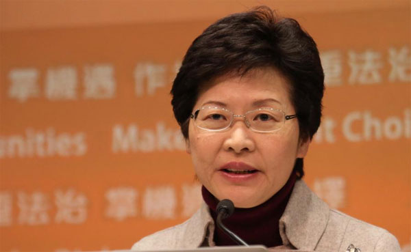 New Chief Executive elected in Hong Kong